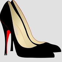 Chaussures noires à talon
