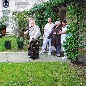 Visite en maison de retraite