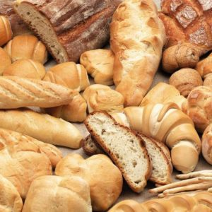 Aliment avec du gluten