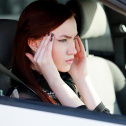 Migraine en voiture