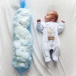 Bébé et couches