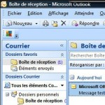 Boîte mail Outlook