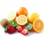Des fruits coupés