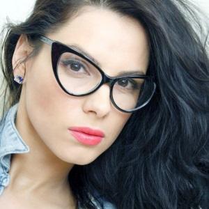 Maquillage avec des lunettes