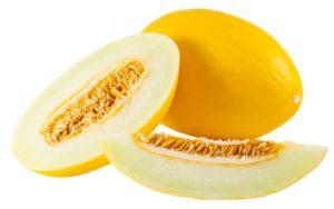 Melon d'Espagne coupé