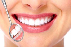 Sourire chez le dentiste