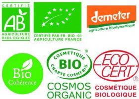 Les différents logos du bio