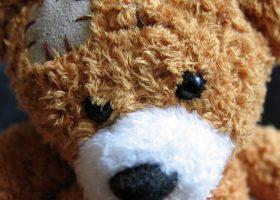 Ours en peluche marron